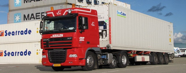 Zeecontainer transport Zeeland